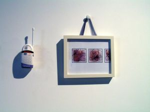 Installation view - West wall