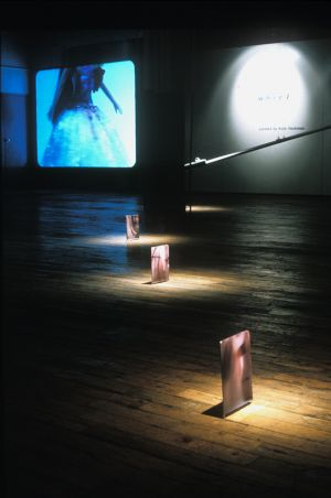 Installation view - Twirling Girls, 2002